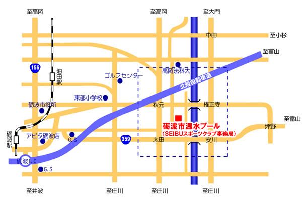 SEIBUスポーツクラブ地図